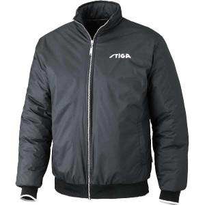 【スティガ】 卓球アウター シーズンジャケット [サイズ:2XS] [カラー:ブラック] #1862190102 STIGA スポーツ・アウトドア