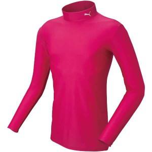 プーマ PUMA COMPRESSION モックネック LSシャツ [サイズ:M] [カラー:ラズベリー×ホワイト] #920480-14 スポーツ・アウトドア