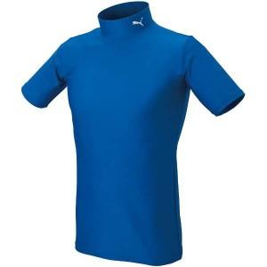 【プーマ】 COMPRESSION モックネック SSシャツ [サイズ:XL] [カラー:チームローヤル×ホワイト] #920582-04 PUMA