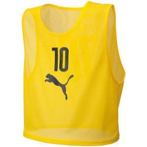 プーマ ビブスセット(10枚組) [サイズ:S] [カラー:サイバーイエロー] #920604-04 PUMA 送料無料 25%OFF スポーツ・アウトドア