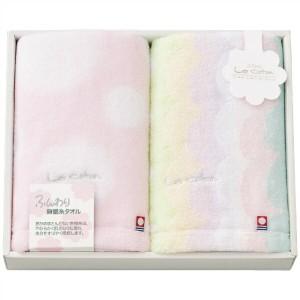 【楠橋紋織】 今治タオル フェイスタオル 2枚セット ピンク LCA-200PK KUSUBASHI MON-ORI 衣料品・布製品・服飾用品