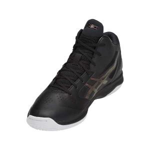 ゲルフープ V10 バスケットボールシューズ [サイズ:24.5cm] [カラー:ブラック×プリズムファイアレッド] #TBF339-9026 送料無料