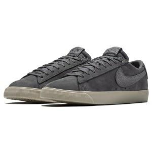 送料無料 ナイキSB ズーム ブレーザー LOW QS [サイズ:28.5cm(US10.5)] [カラー:ダークグレー×ダークグレー] #AQ9941-007 NIKE 靴