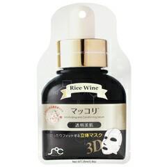 【レインボー ビューティ】 SOC 3D 美容液 フェイスマスク マッコリ 25ml RAINBOW BEAUTY 化粧品 コスメ SOC 3D FACE MASK RICE WINE
