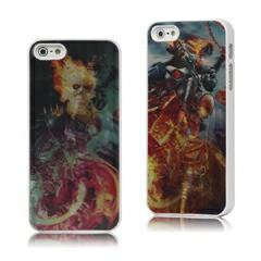 iPhoneSE / iPhone5s  iPhone SE iPhone 5s スケルトンファイター3D効果ハードケースカバー 電化製品