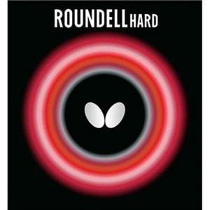 バタフライ BUTTERFLY ラウンデル・ハード 卓球ラバー [カラー:レッド] [サイズ:中] #05890 スポーツ・アウトドア
