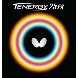 バタフライ BUTTERFLY テナジー・25・FX 卓球ラバー [カラー:レッド] [サイズ:特厚] #05910 スポーツ・アウトドア