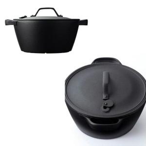 及源鋳造 OIGENTYUZOU 盛栄堂 クックトップ 煮込鍋 丸 深型 中 CT-4 キッチン用品