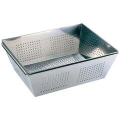 三宝産業 SAMPO SANGYO UK 18-8 パンチング 角ザル L 540×420 送料無料 キッチン用品