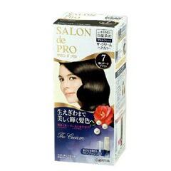 ダリヤ DARIYA サロンドプロ ザ・クリームヘアカラー 白髪用 7 深いダークブラウン ヘアケア