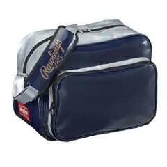 ローリングス エナメルショルダー バッグ[カラー:ネイビー×シルバー] #BAGES RAWLINGS 送料無料 10%OFF スポーツ・アウトドア