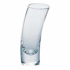 【ショットグラス】東洋佐々木ガラス TOYOSASKI GARASU 花かざり 変形ショットグラス OC2002 キッチン用品