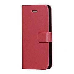 【iPhoneSE / iPhone5s】 iPhone SE iPhone 5s ウォレットフリップレザーケース スタンド機能付き ピンク  電化製品