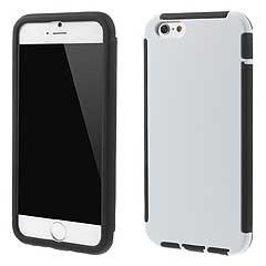 iPhone 6  iPhone6 ケース 4.7 inch 超軽量 ハイブリッド ハードケースカバー ホワイト 電化製品 iPhone 6 Case