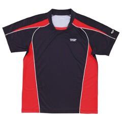 ティーエスピー TSP 卓球用 シャツ デファンスシャツ [カラー:ブラック] [サイズ:JS] #030265 スポーツ・アウトドア