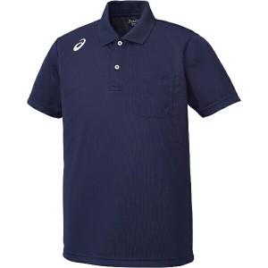 アシックス トレーニング用 ポロシャツ XA6168 [カラー:ネイビー] [サイズ:O] #XA6168 ASICS 送料無料 スポーツ・アウトドア