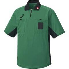 アシックス ASICS ハンドボール用 レフリーシャツ XH6003 [カラー:グラスグリーン] [サイズ:L] #XH6003 スポーツ・アウトドア