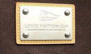 【バッグ】 ルイ ヴィトン アンティグアライン カバGM トートバッグ ショルダートート ヴィトンカップ ブラウン ホワイト M80662