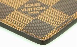 ルイ ヴィトン ダミエ ポルトカルト サーンプル カードケース パスケース 名刺入れ N61722