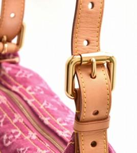 【バッグ】 ルイ ヴィトン モノグラムデニム バギーPM ショルダーバッグ ワンショルダー 斜め掛け フューシャ ピンク M95212