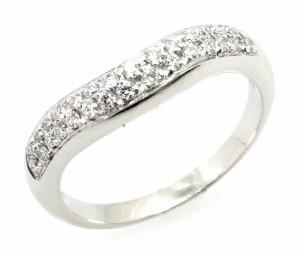 7123822c0530 【ジュエリー】 ブルガリ コロナ ダイヤモンドパヴェ ダイヤ リング 指輪 Pt950 プラチナ #9 9号