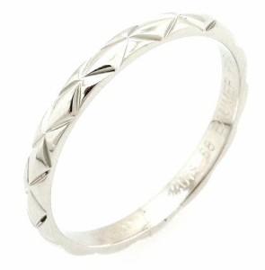 0379d24d9bd7 【ジュエリー】 シャネル マトラッセ リング マリッジリング ウエディングリング 指輪 Pt950 プラチナ 18号 #