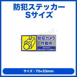 【1,000円ポッキリ】【送料無料】防犯ステッカーSサイズ[SA-01S]-コロナ電業