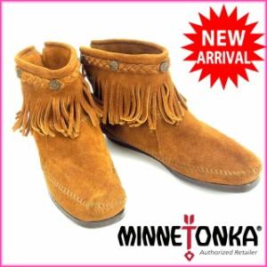 ミネトンカ Minnetonka ブーツ #7 [中古] (良品・即納) B411