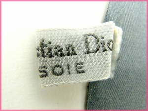 クリスチャン・ディオール Christian Dior スカーフ 人気 美品【中古】 Y1478