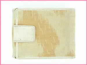 ヴィヴィアン・ウエストウッド Vivienne Westwood 三つ折り財布 Wホック財布 オーブ [中古] (激安・即納) N143