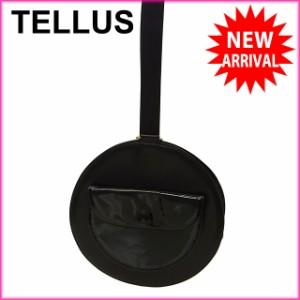テラス TELLUS ショルダーバッグ ハンドバッグ メンズ可 丸型 [中古] (激安・即納) N166