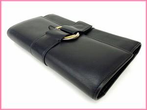 カルティエ Cartier 三つ折り財布 長財布 トリニティ [中古] 良品 人気 N184