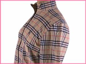 バーバリー BURBERRY ジャケット ジップアップ レディース ホース刺繍入り ノバチェック [中古] 激安 人気 N195