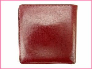 カルティエ Cartier 二つ折り財布 メンズ可 マストライン [中古] 良品 人気 N218