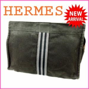エルメス HERMES クラッチバッグ セカンドバッグ メンズ可 フールトゥ [中古] 良品 人気 N227