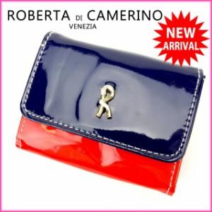ロベルタディカメリーノ ROBERTA DI CAMERINO コインケース  [中古] 美品 人気 O148