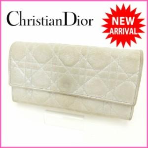 クリスチャン・ディオール Christian Dior 長財布  [中古] 良品 人気 O153