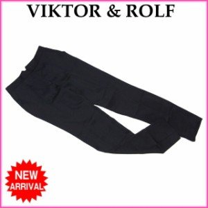 ヴィクター&ロルフ VIKTOR & ROLF パンツ テーパード レディース ♯40サイズ センタープレス良品 人気【中古】 C2970