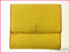 ルイヴィトン Louis Vuitton Wホック財布 M6348 エピ [中古] (激安・即納) R55