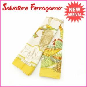 サルヴァトーレ・フェラガモ Salvatore Ferragamo スカーフ レディース [中古] 激安 セール E893