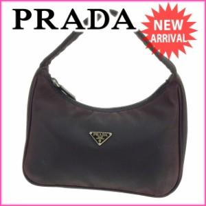 プラダ PRADA ポーチ ハンドバッグ レディース [中古] 激安 セール E922