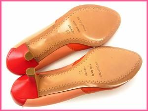 セルジオロッシ Sergio Rossi パンプス シューズ 靴 レディース ♯36 ラウンドトゥ カラー切替え良品 セール【中古】 Y2657