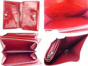 カルティエ Cartier 二つ折り財布 L字ファスナー レディース ハッピーバースデー [中古] 激安 即納 N274