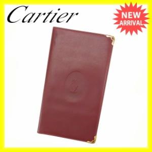 カルティエ Cartier 長札入れ メンズ可 マストライン [中古] 激安 即納 N295