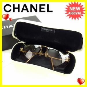 シャネル Chanel サングラス ココマーク レディース 中古 H294