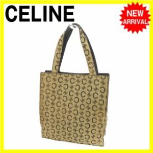 セリーヌ CELINE ハンドバッグ ミニトートバッグ レディース C×マカダム [中古] 激安 セール C1855