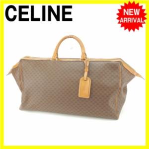 セリーヌ Celine ボストンバッグ ハンドバッグ 男女兼用 人気 セール【中古】 Y3744