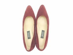 バリー BALLY パンプス シューズ 靴 レディース ♯4E ラウンドトゥ [中古] 人気 セール L879