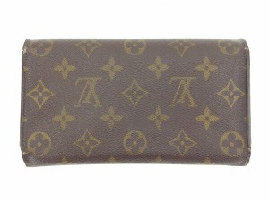 ルイヴィトン Louis Vuitton 財布 長財布 モノグラム レディース 中古 Y4256