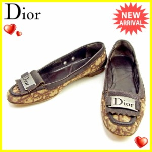 ディオール Dior シューズ #36 1/2 レディース ヴィンテージ トロッター人気 セール【中古】 T1212